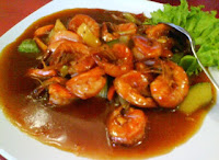 Resep Masakan Udang Asam Manis Pedas Lezat