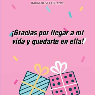 Imágenes feliz cumpleaños querida. Tarjetas con mensajes lindos para enviar por Whatsapp. Dibujos de regalos y confeti