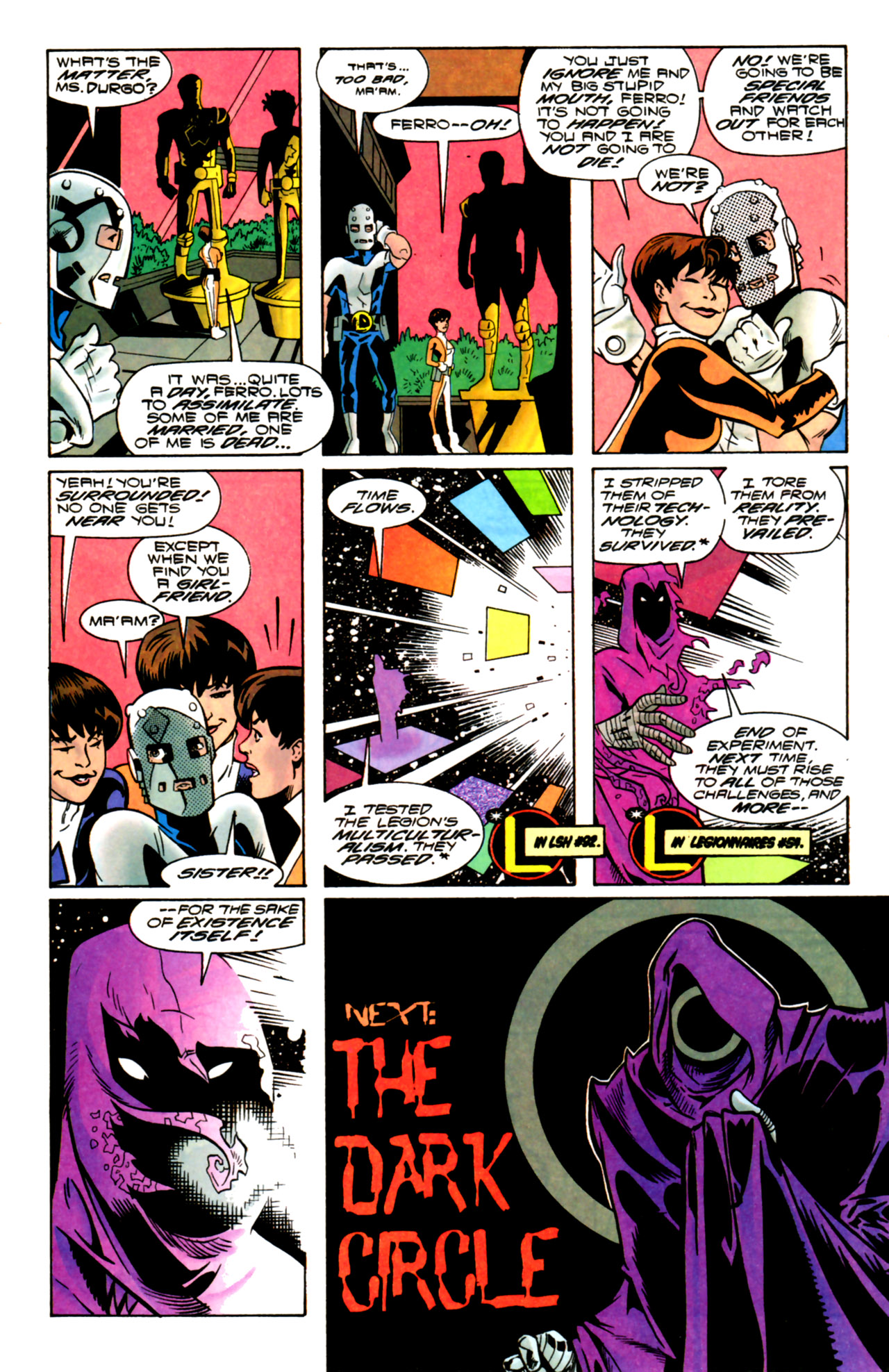Legion of Super-Heroes (1989) 105 Page 20