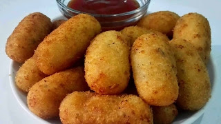 Crispy Potato Nuggets Recipe in Urdu