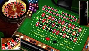 The inside and outside bet of a roulette table