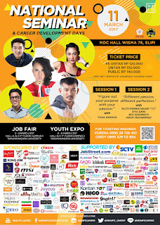 NATIONAL SEMINAR AND CAREER DEVELOPMENT DAYS 2017