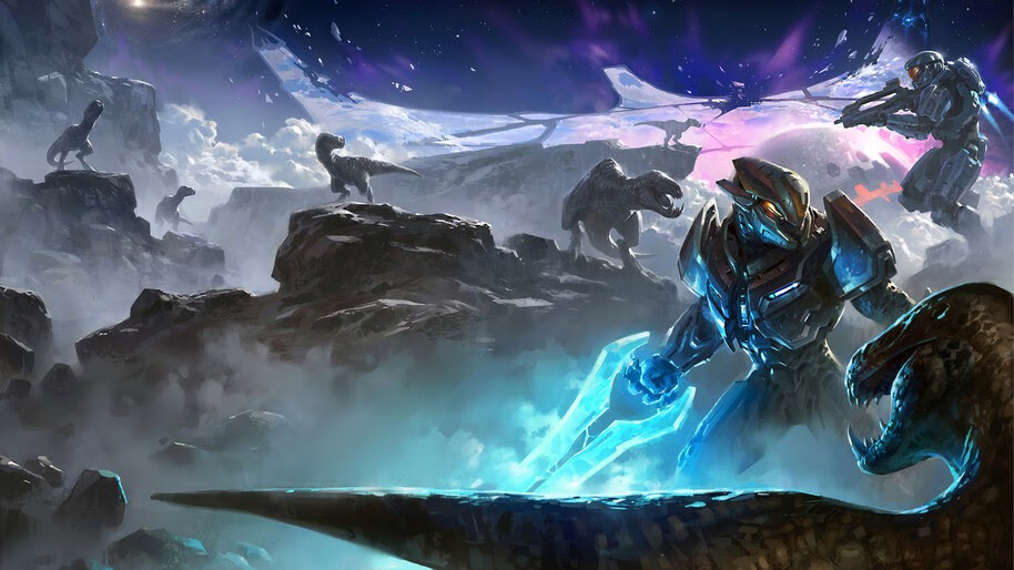 Halo Energy Sword Sci Fi 4k Wallpaper 449