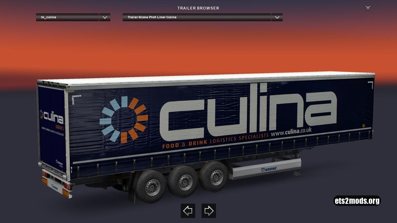 Krone Culina Trailer