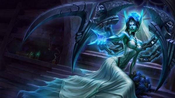 Kokiridream Desenho Ghostbride Morgana League Of Legends