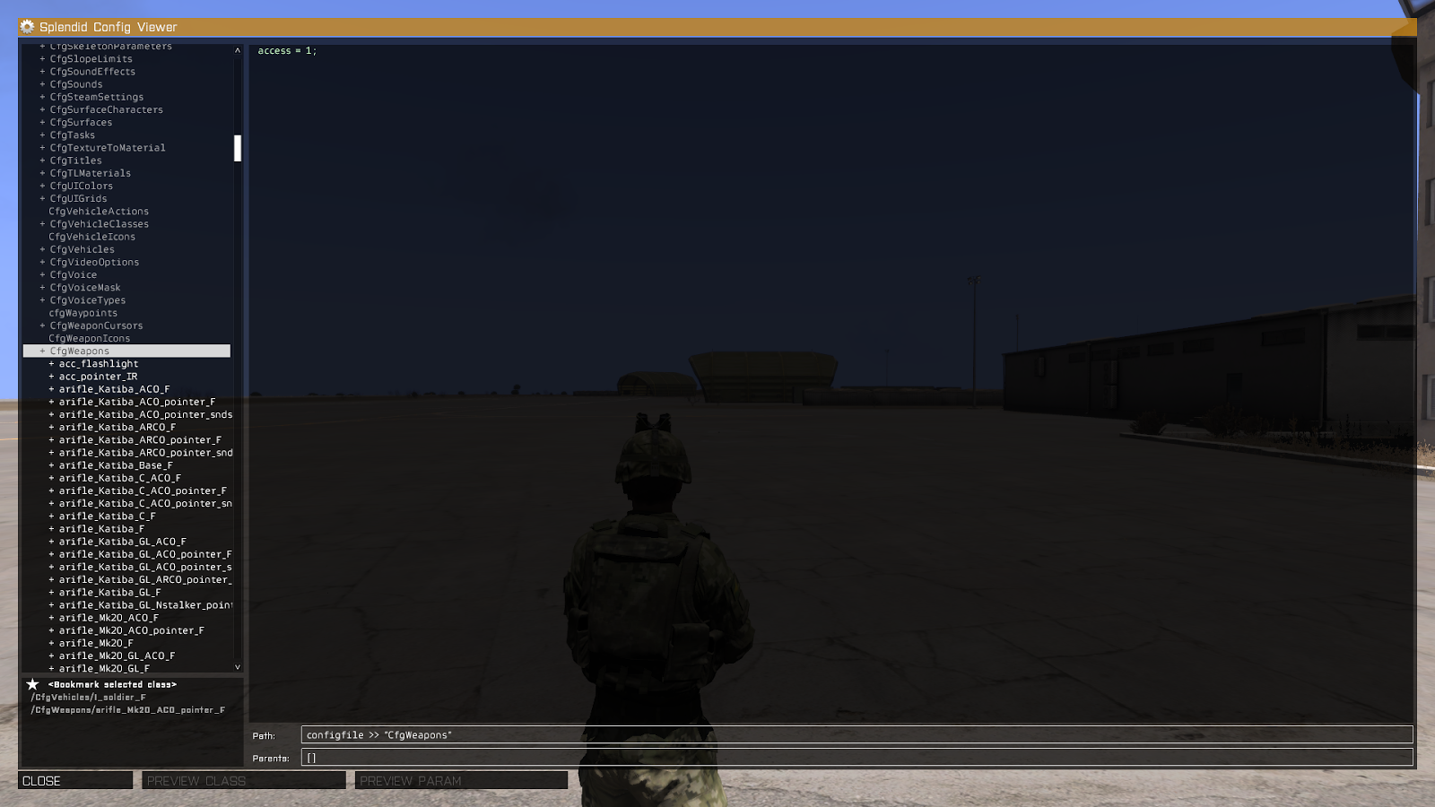 ArmA 3 Scripting Tutorials: Config Viewer - What Is It and