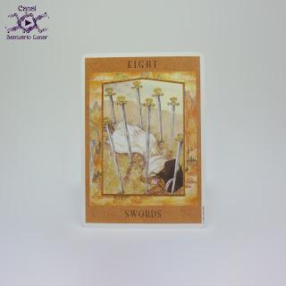 The Goddess Tarot (US Games System) - 8 of Swords
