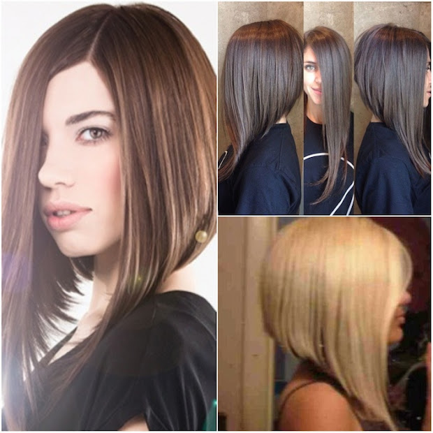 46 -line bob haircuts women