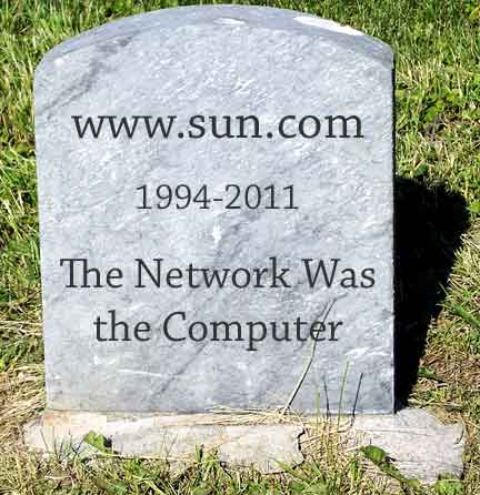 Tombstone for www.sun.com