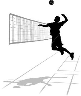 THE VOLLEY AND OVERHEAD SMASH.