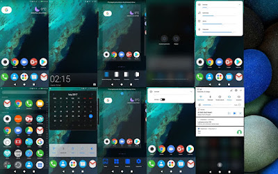Download Pixel Blue Theme For Huawei EMUI 5.0 8.0 Huawei Themes