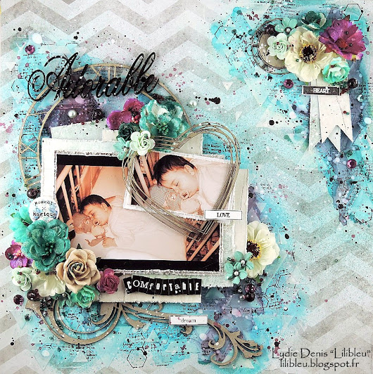 """Adorable"" - DT 2 Crafty Chipboard"