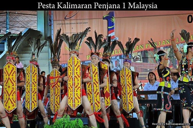 Sambutan Pesta Kalimaran Masyarakat Murut Di Sabah