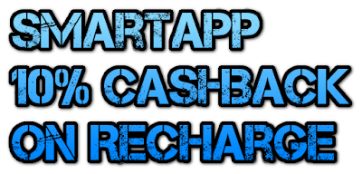 Smartapp 10% Cashback On Recharge