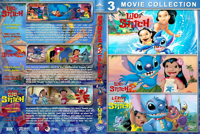 Lilo & Stitch Collection DVD Cover