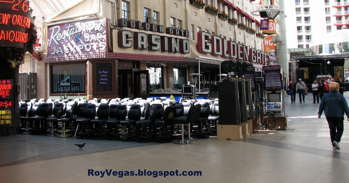 Roy Vegas Golden Gate Casino Las Vegas Slots Outside