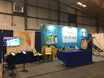 Newby Fun Resorts Booth Picture