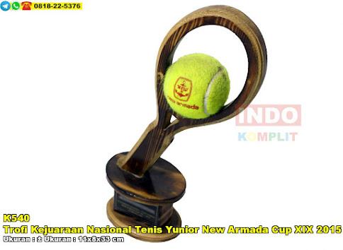 Trofi Kejuaraan Nasional Tenis Yunior New Armada Cup XIX 2015