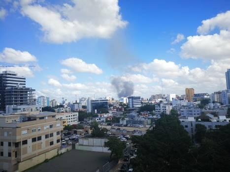 Explosión se sintio en varias zonas del Distrito Nacional