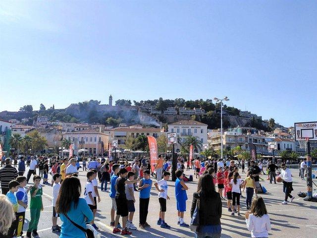 Περισσότερα από 200 παιδιά στο τουρνουά 3Χ3 στο Ναύπλιο
