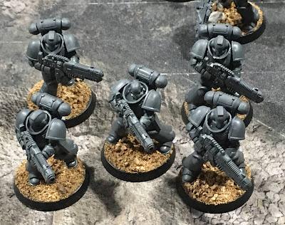 40K Blades of Vengeance WIP - Hellblasters