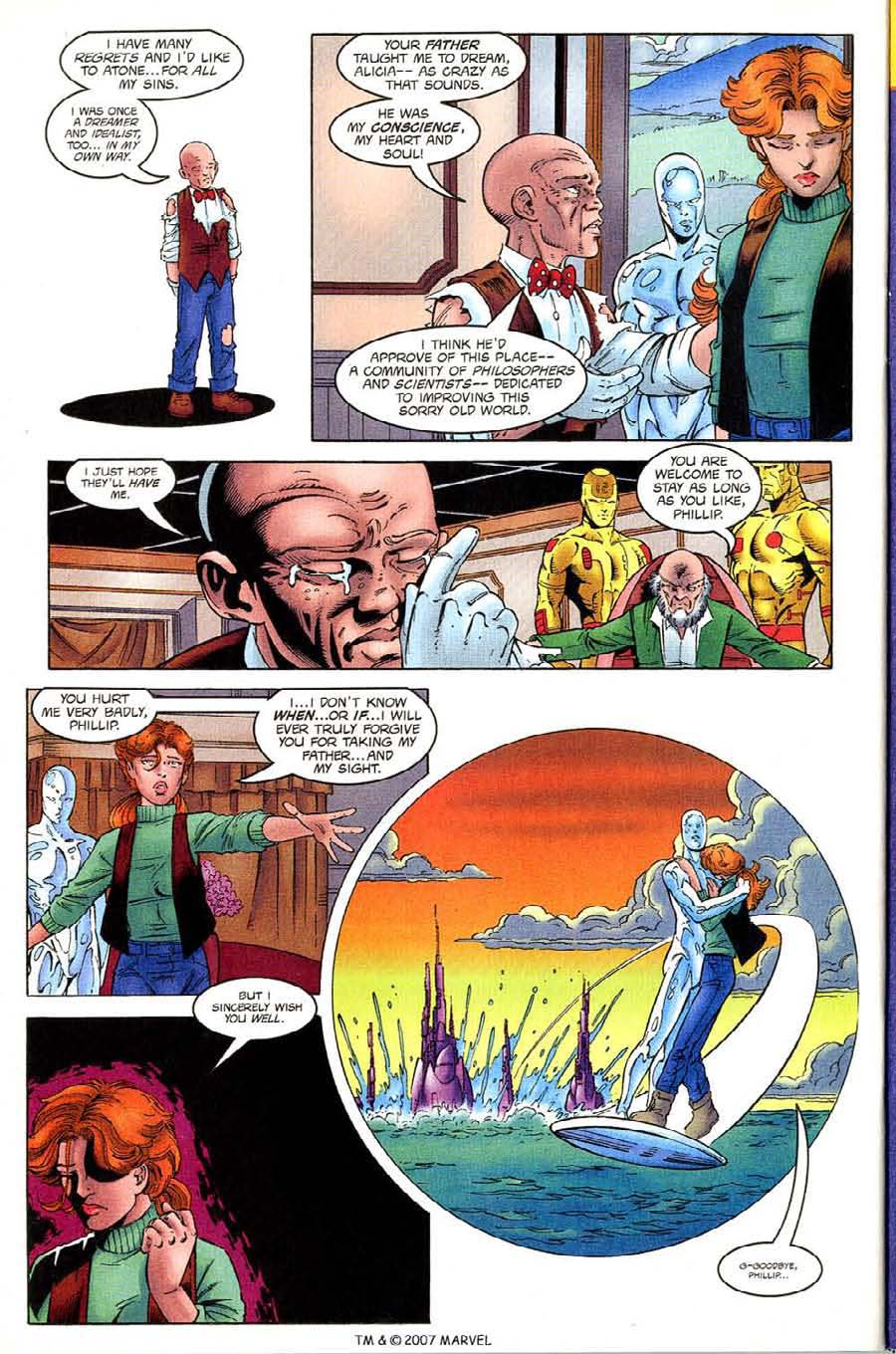 Read online Silver Surfer (1987) comic -  Issue #133 - 32