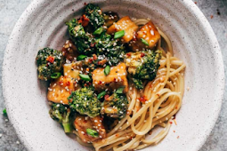 Crispy Tofu Broccoli Stir Fry