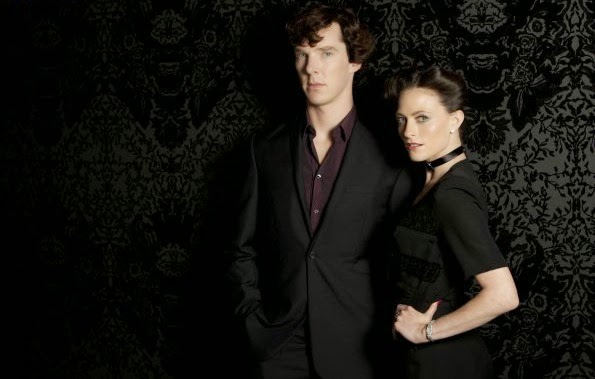 'SHERLOCK,' SERIES TWO (2011). Benedict Cumberbatch and Martin Freeman return for the second series of the BBC TV show. All text © Rissi JC