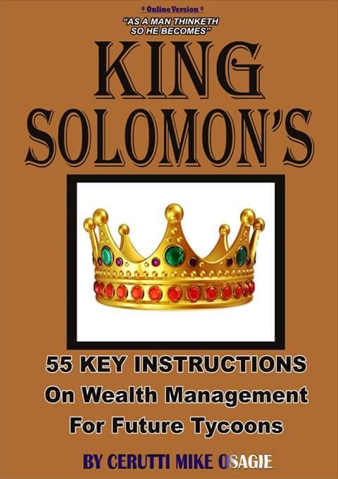 AN EXCLUSIVE CERUTTI MEDIA ONLINE BOOK : THE KING SOLOMON'S 55 ...