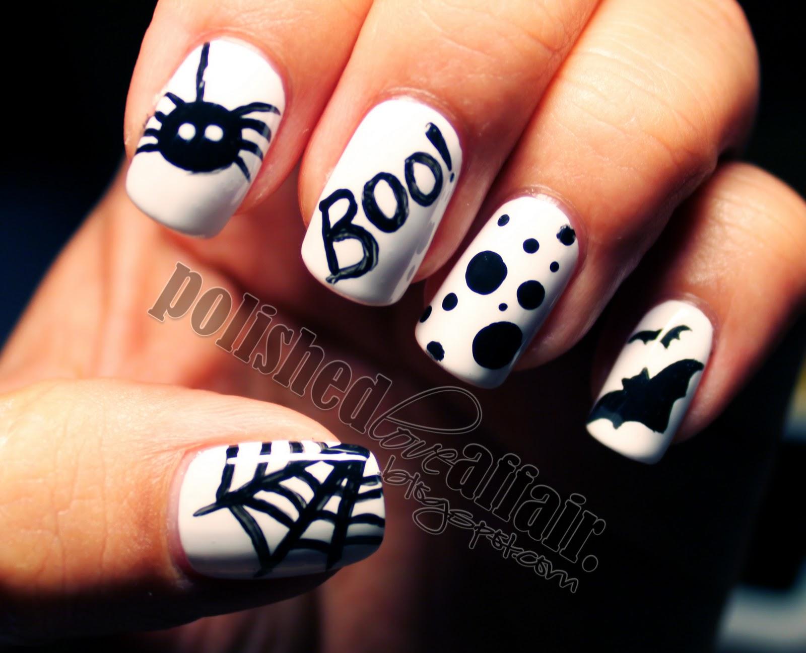 8 Spooky Nail Ideas - MyThirtySpot