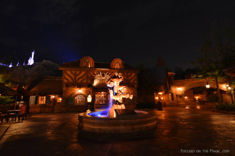Gaston's Tavern Magic Kingdom  New Fantasyland