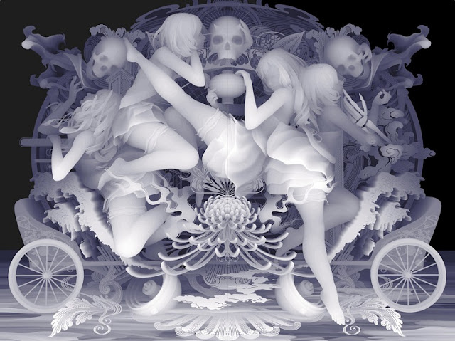 """WE RIDE OUR DECORATON AND WALK THE LIFE WITHOUT A HITCH BY OTHERS"" by Kazuki Takamatsu - 2016 