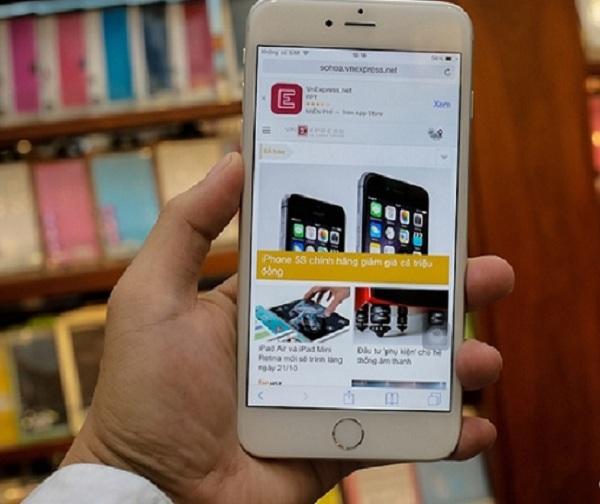 iPhone 6 Plus mang màn hình cỡ lớn