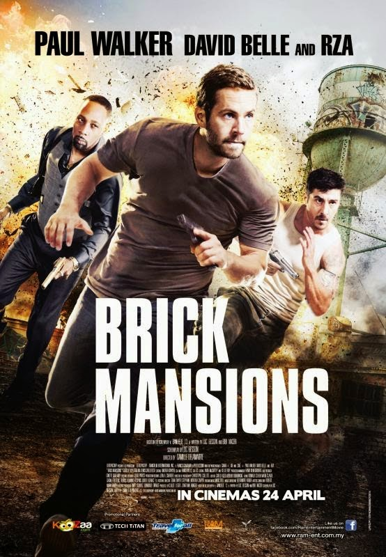 Brick Mansions พันธุ์โดด พันธุ์เดือด [HD][พากย์ไทย]