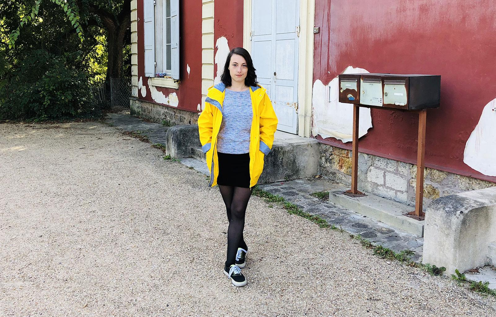 Look : Le ciré jaune