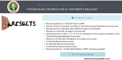 Vtu Results 2017