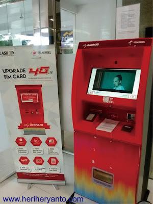 Cara dan Biaya Upgrade Kartu Sim 4G Telkomsel Menggunakan Mesin Upgrade Otomatis