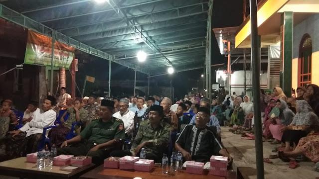 Binter, Batuud Ramil 01/Jepara Hadiri Pengajian Isra' Mi'raj Nabi Muhammad SAW
