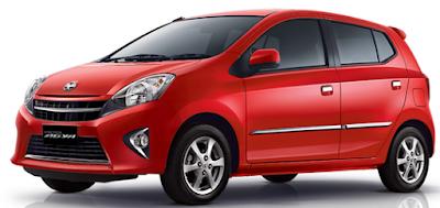 Harga Mobil Agya Baru dan Bekas 2017 Lengkap