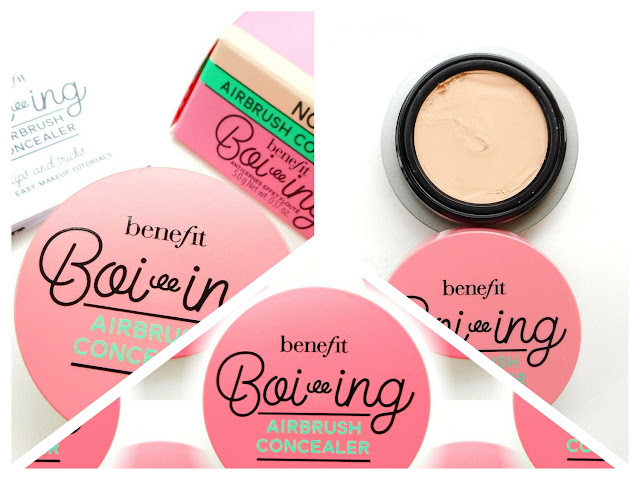 BENEFIT Boi Ing  Airbrush Concealer Review Photos