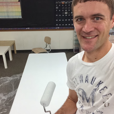 Looking to create your own dry-erase tables for your classroom? Middle school teacher Alex did it... and you can, too! See the step-by-step in photos.