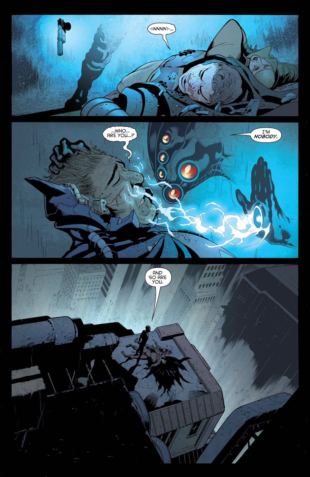 Read online Batman and Robin (2011) comic -  Issue # _Bad Blood (DC Essential Edition) (Part 1) - 9