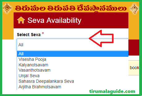 TTD Seva Tickets Online Booking Timings, Availability (Arjitha Seva