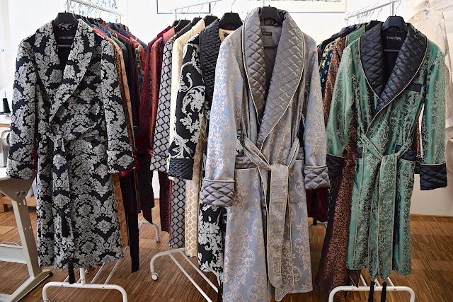 mens quilted silk dressing gown paisley robe smoking jacket full length warm elegant vintage victorian gentleman housecoat