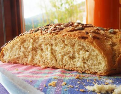 pan multicereales con multisemillas