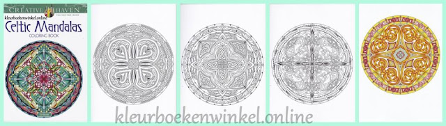 kleurboek celtic mandalas uit de serie kleurboeken mandalas