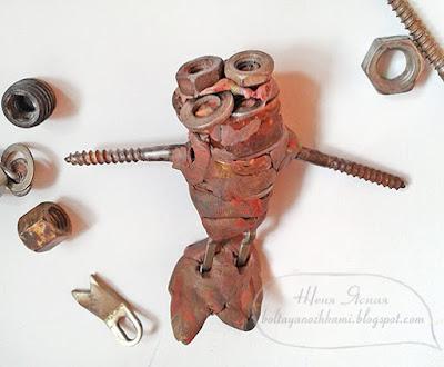 творчество для мальчиков, кощей руками, поделки из пластилина своими руками