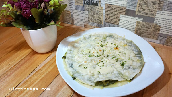 Squad Bistro - Bacolod restaurants - chicken pesto quesadilla
