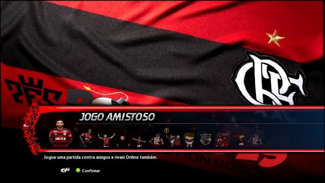 4 Club Graphic Menus PES 2013