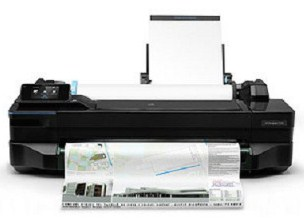 The printer is good suited to run across your printing needs HP Designjet T120 Driver Download